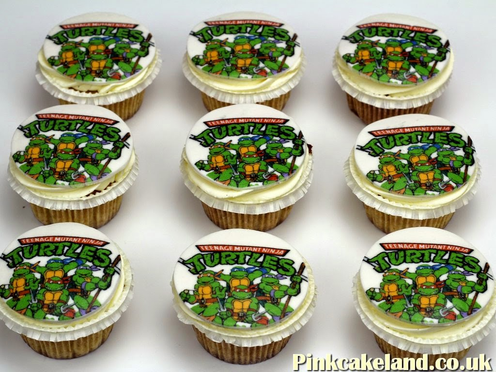 Teenage Mutant Ninja Turtles Cupcakes, London