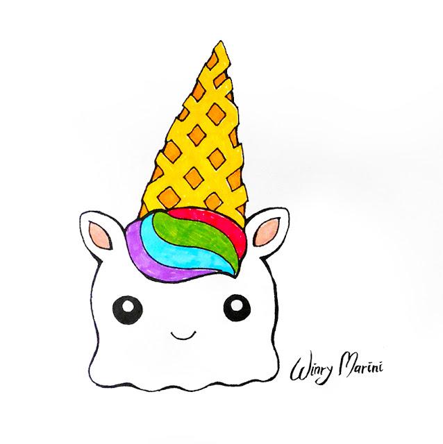 Днем рождения, прикольные картинки с единорогами кошками пончиками мороженки