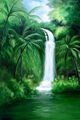 How Can A Waterfall Painting Change The Vaastu Of Your HomeOffice