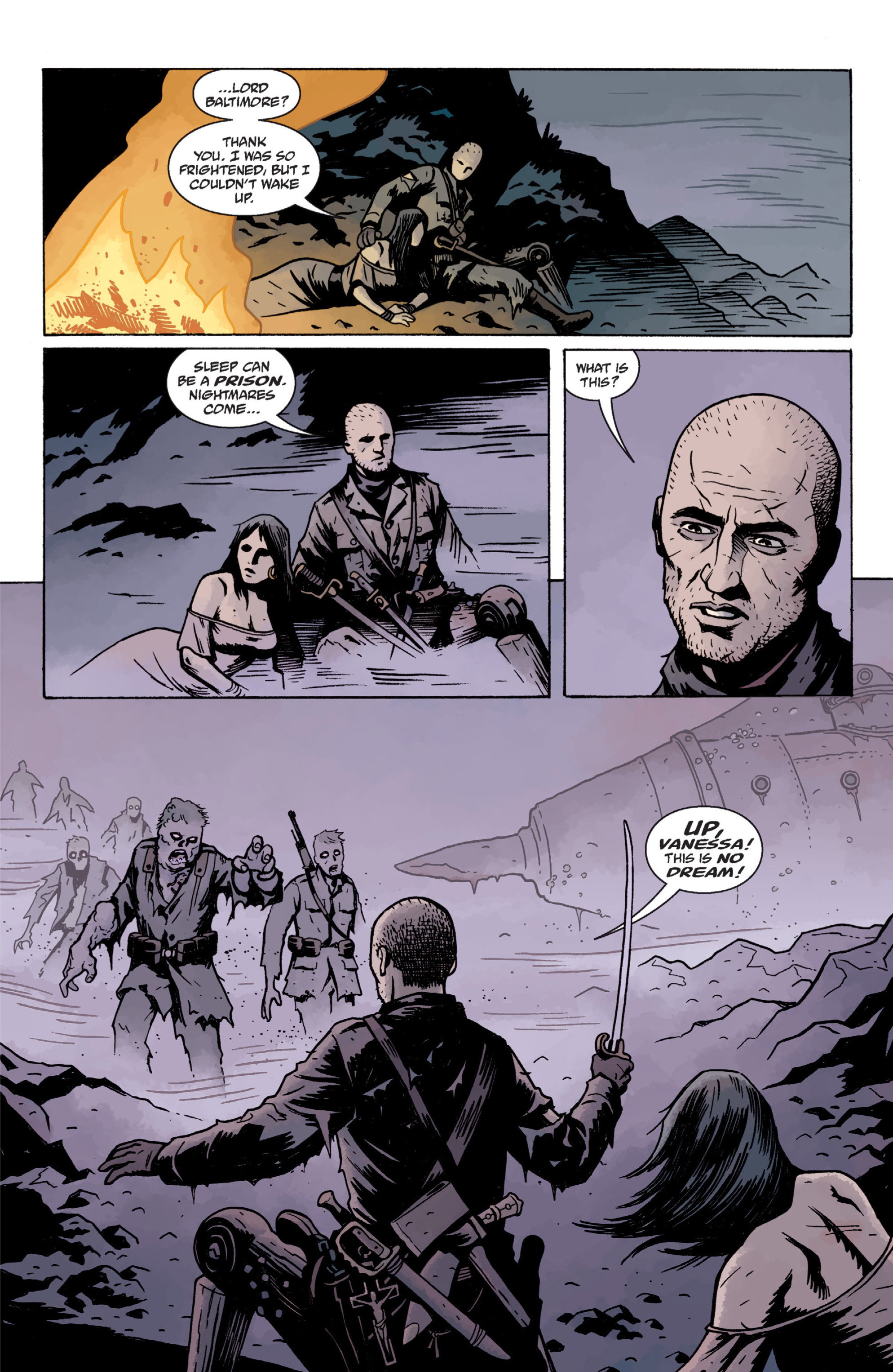 Read online Baltimore: The Plague Ships comic -  Issue # TPB - 107