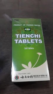 Raw Tienchi Tablets (Isi 36)