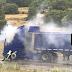 Βλαχέρνα Αρκαδίας:Φλεγόμενο φορτηγό αυτοκίνητο τάραξε την περιοχή