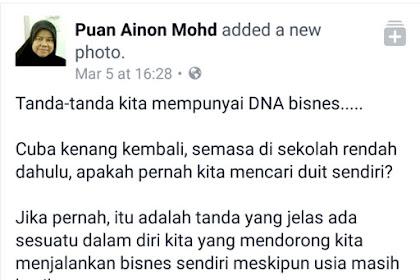 Tanda-tanda Badan Ada DNA BISNES