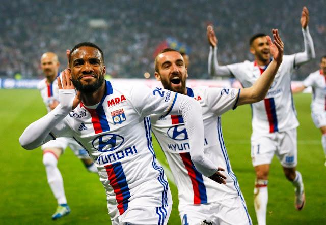 Lacazette Darder Olympique Lyonnais Ligue des Champions