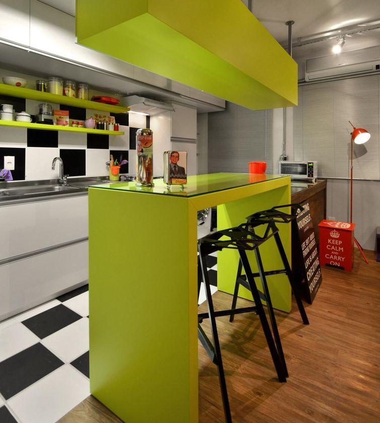 Cozinha Planejada Pequena Moderna E Encantadora Decor