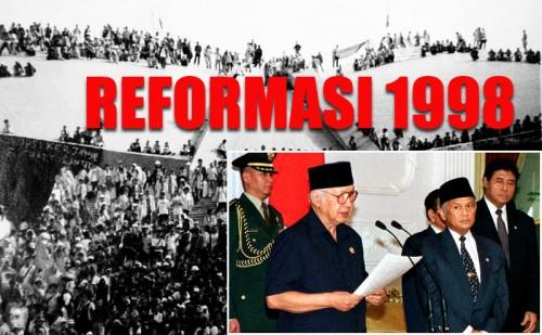 Ilustrasi Reformasi 1998