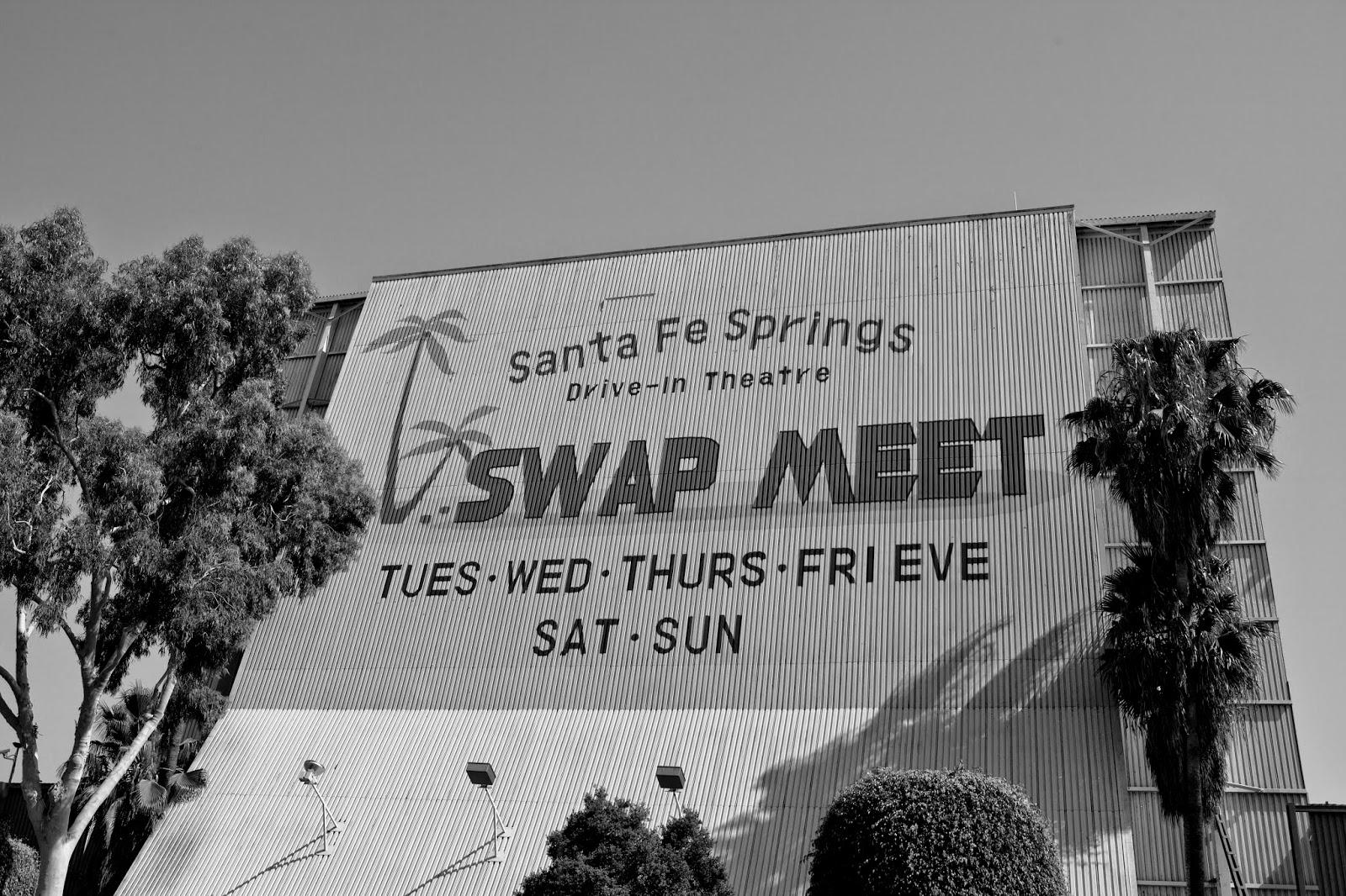 santa fe springs swap meet drive in fort
