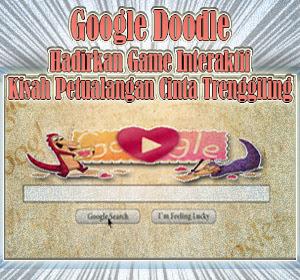 Google Doodle Hadirkan Game Interaktif Kisah Petualangan Cinta Trenggiling (Pangolin)