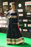 Raai Laxmi in Beautiful Backless Designer Anarkali Gown at IIFA Utsavam Awards 2017  Day 2  Exclusive 53.JPG