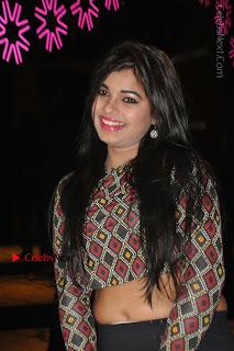 Indian Actress Model Naveena Jackson Latest Po Gallery in Black Mini Skirt  0022.JPG