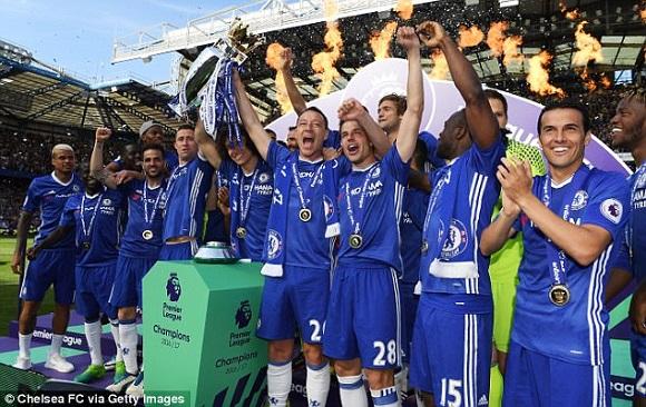 Chelsea FC juara Liga Inggris musim kompetisi 2016-2017