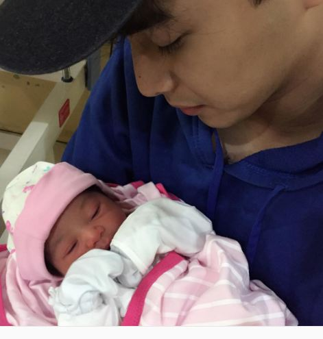 PBB Housemate McCoy de Leon Shares His Newborn Baby Sister And She is So Cute!