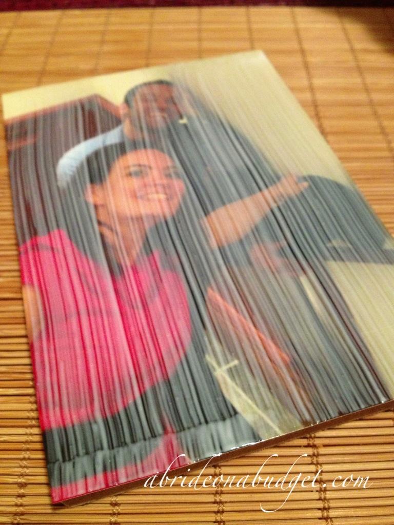 DIY: Homemade Canvas Prints | A Bride On A Budget