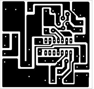 cara merakit power supply 12 volt PCB & Layout