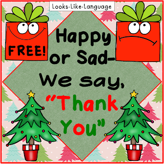 "Saying ""Thank you!"" is important! Tips for teaching at Looks Like Language"