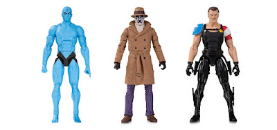 Doomsday Clock Watchmen Action Figure 2 Packs by DC Collectibles