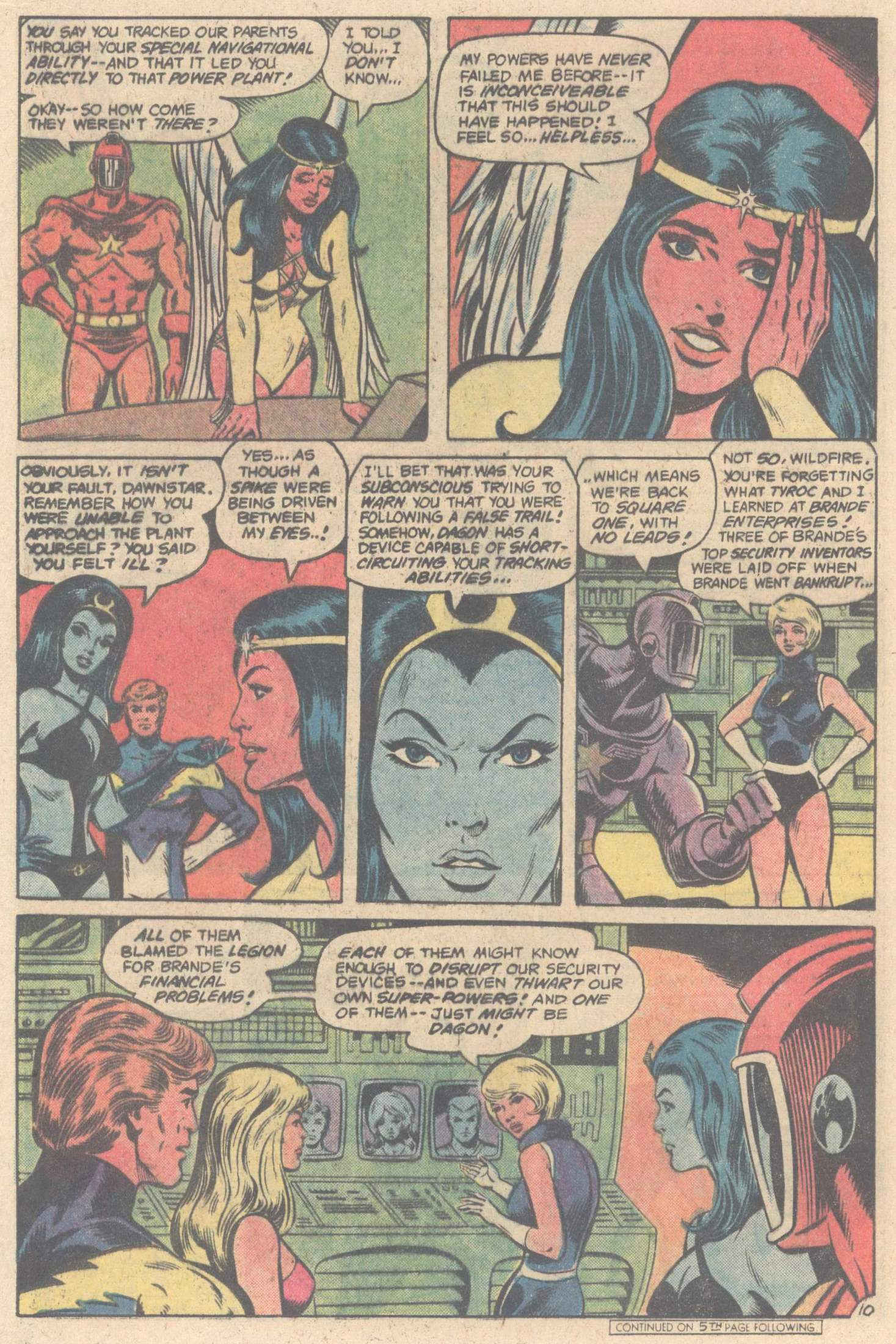 Legion of Super-Heroes (1980) 264 Page 15