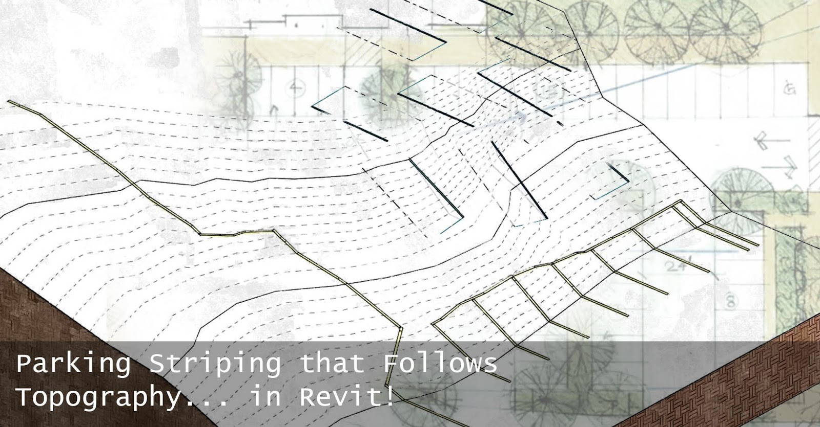 Revit Tutorial - Parking Striping the Follows Topography