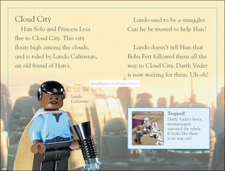Sample page #2 from Lego Star Wars -- RETURN OF THE JEDI  by Emma Grange