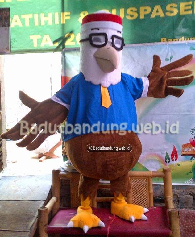 contoh gambar badut burung maskot partai nasdem