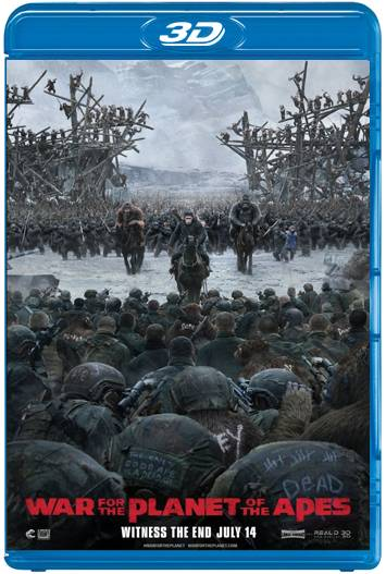 El planeta de los simios La guerra (2017) 3D SBS Latino