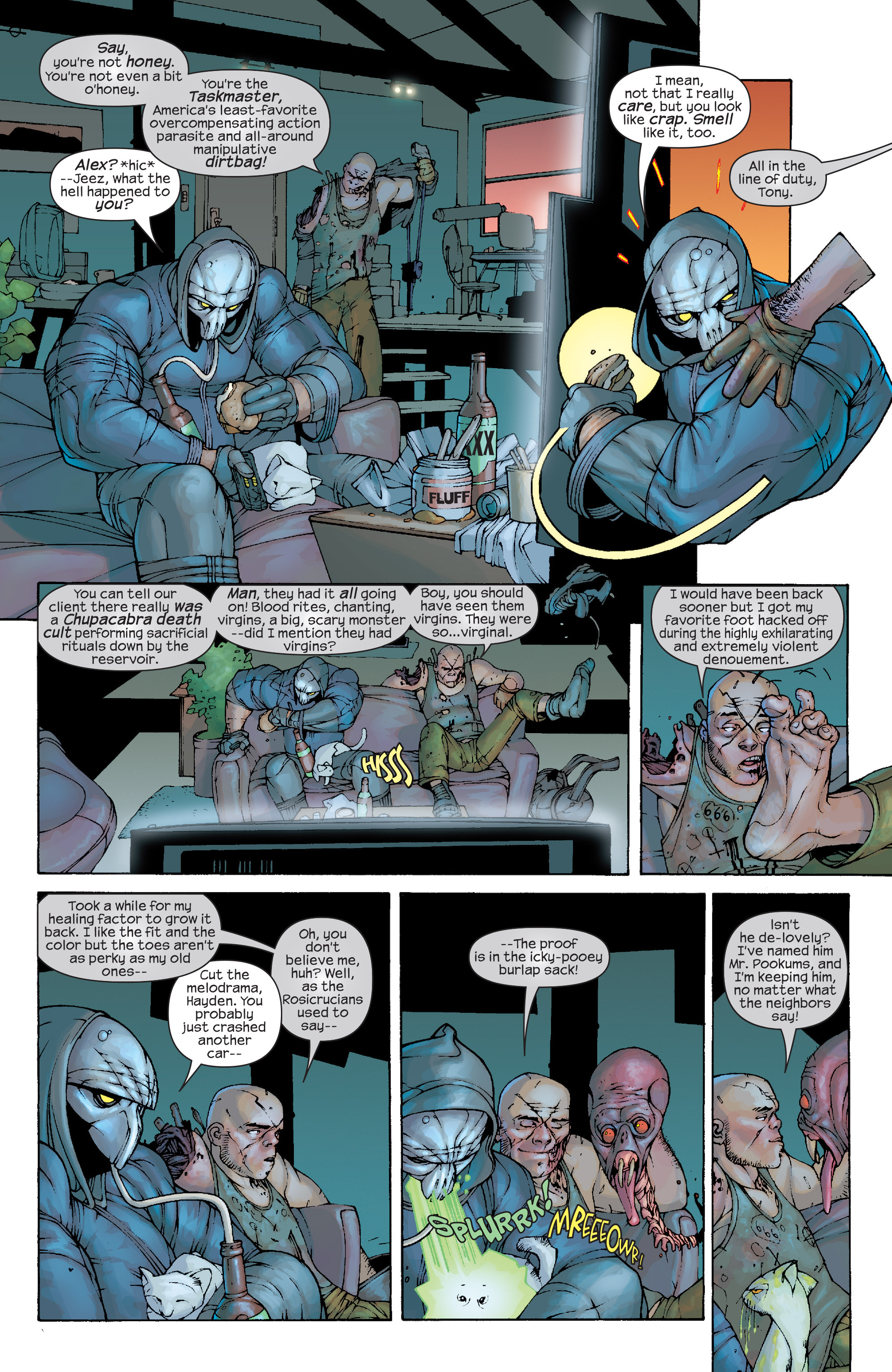 Read online Agent X comic -  Issue #10 - 4