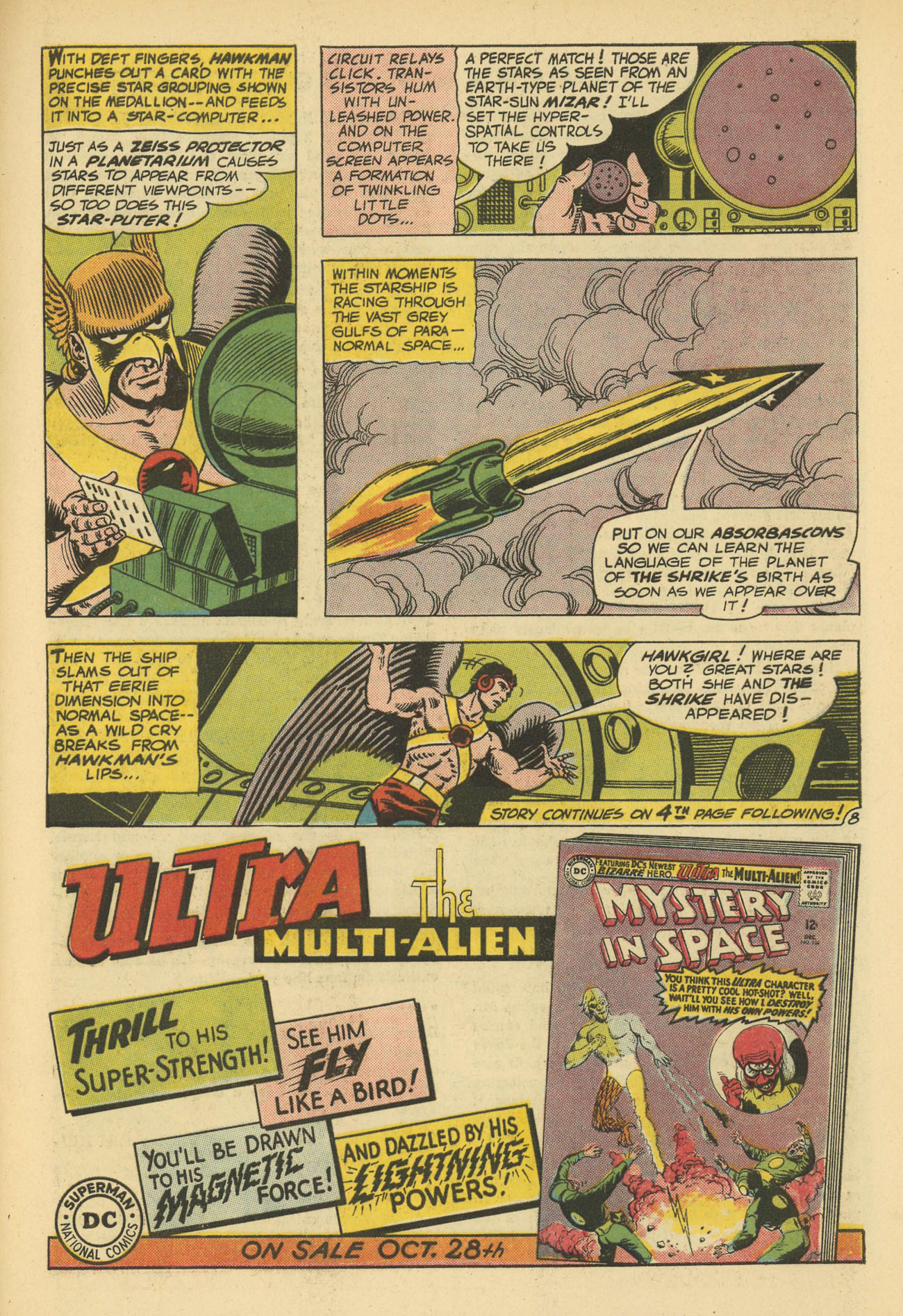 Hawkman (1964) issue 11 - Page 11