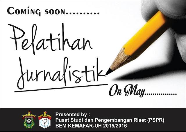 Coming Soon Pelatihan Jurnalistik