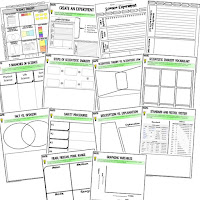 Science Inquiry Activities, Earth Science Activities, Choice Boards, Digital Graphic Organizers