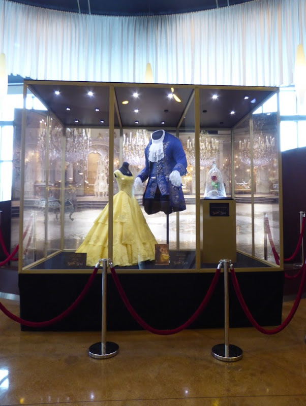 Beauty and the Beast 2017 movie costume exhibit