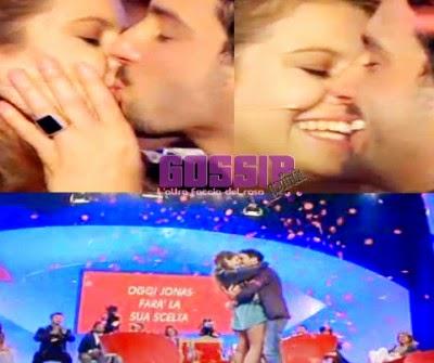Bacio Jonas e Rama