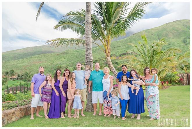 Maui Family Reunion Portrait