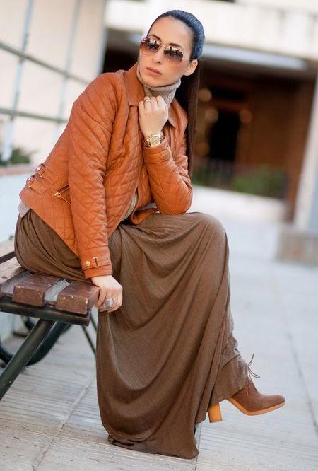 mode rok panjang terbaru