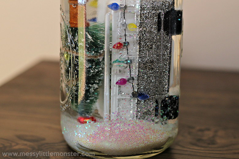 Diy snow globe winter crafts for kids