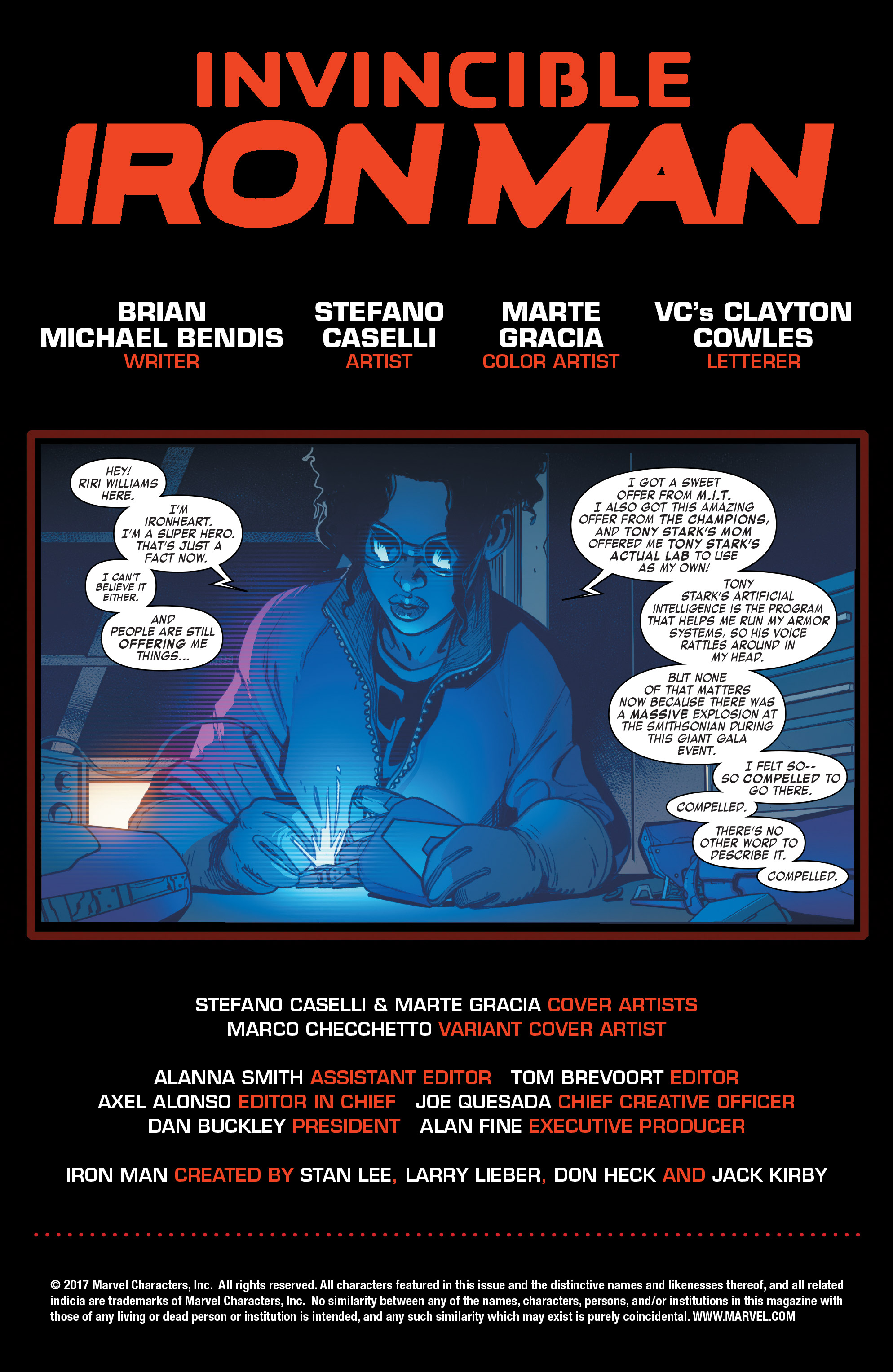 Read online Invincible Iron Man (2016) comic -  Issue #8 - 2