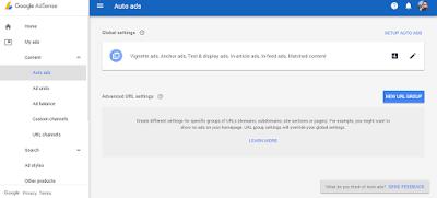 Maksimalkan Pendapatan Google Adsense Dengan Fitur Auto Ads