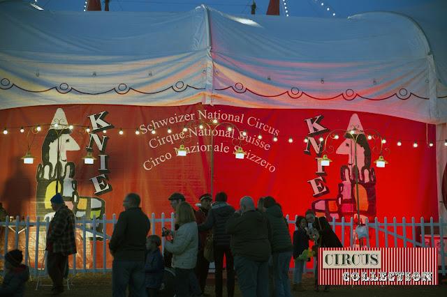 la façade du cirque Knie