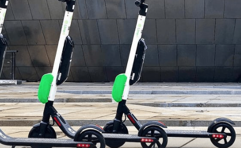 Scooters littering US city streets shout at people: 'Unlock me or I'll call the police'