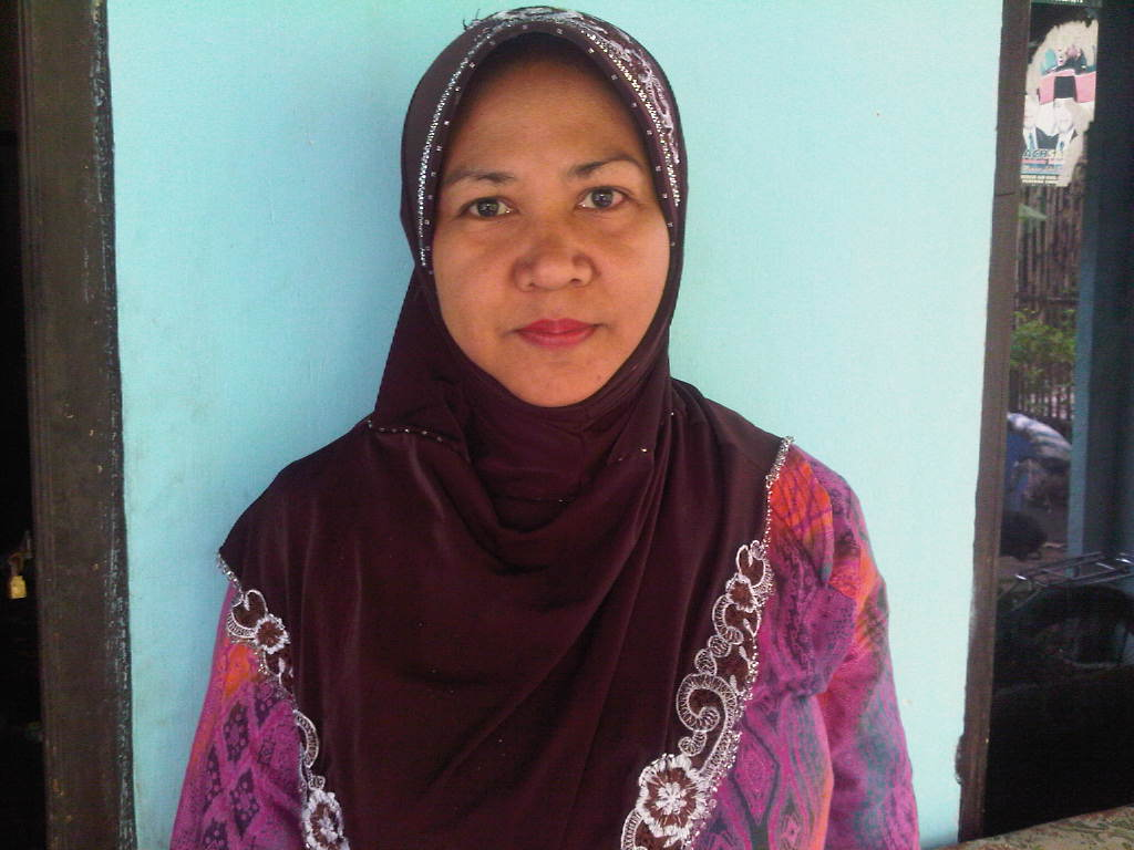 Kim Melati Sidoarjo: Sulam Pita dan Jilbab lukis