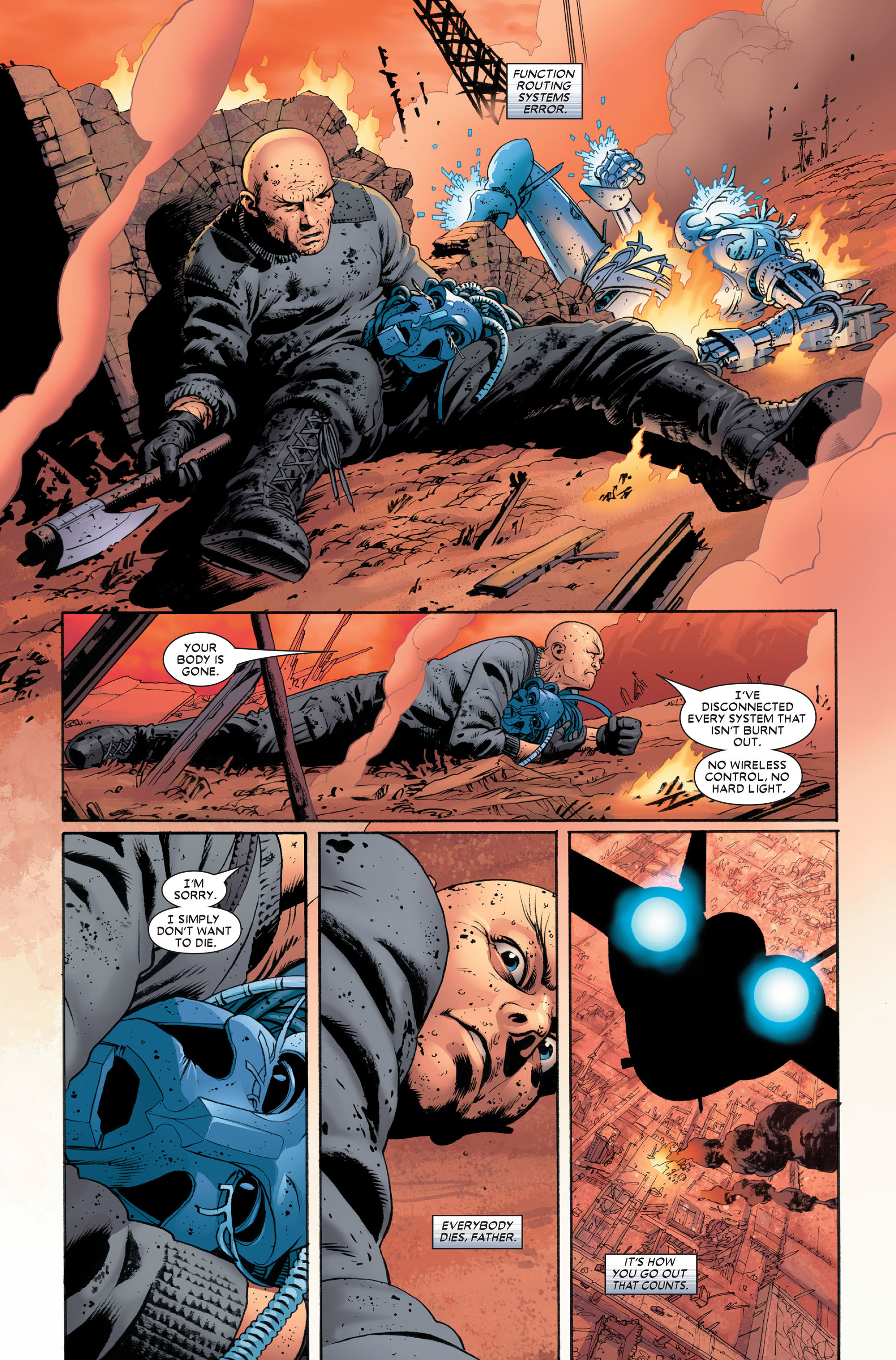 Read online Astonishing X-Men (2004) comic -  Issue #11 - 19