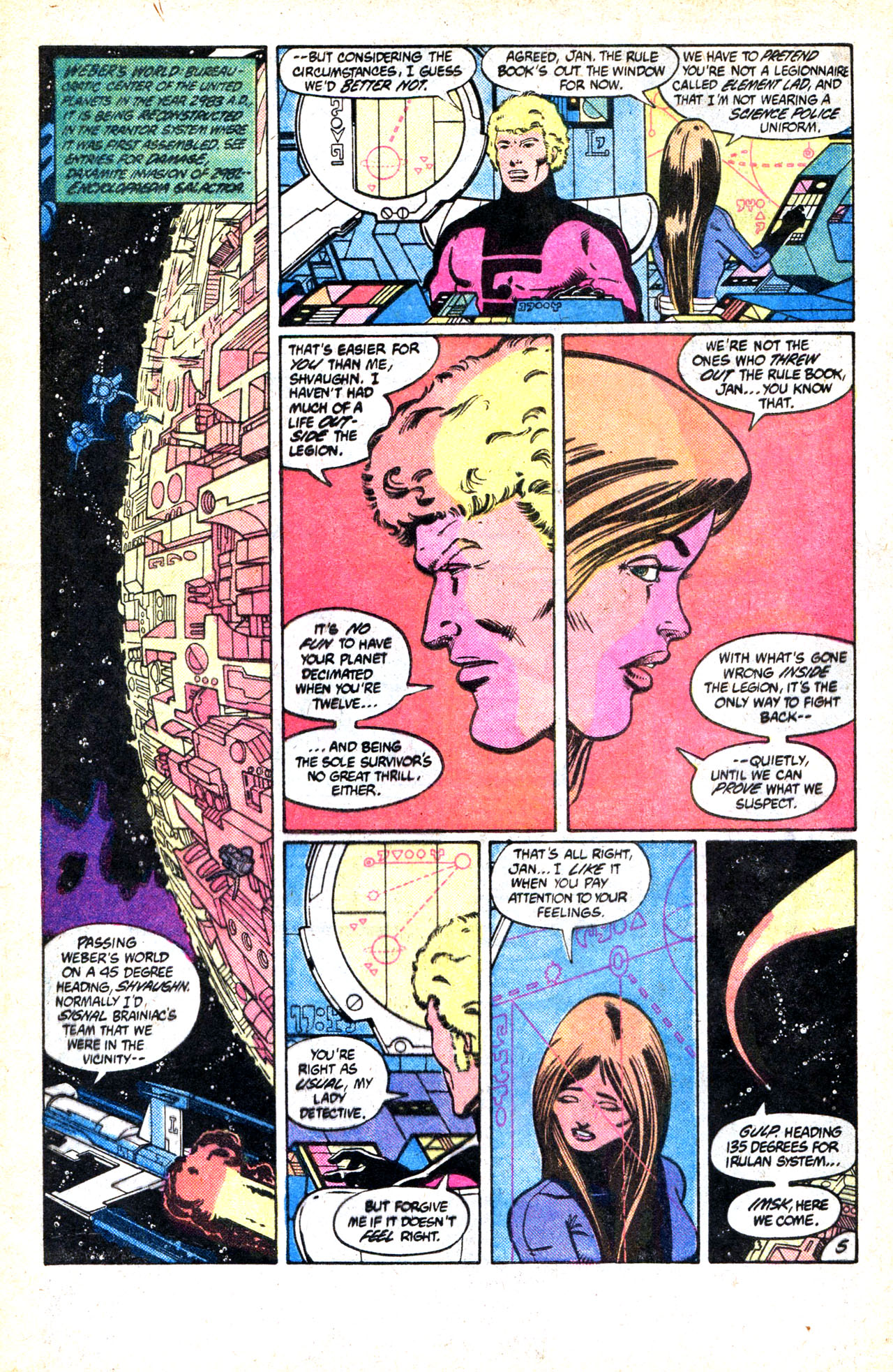 Legion of Super-Heroes (1980) 302 Page 8