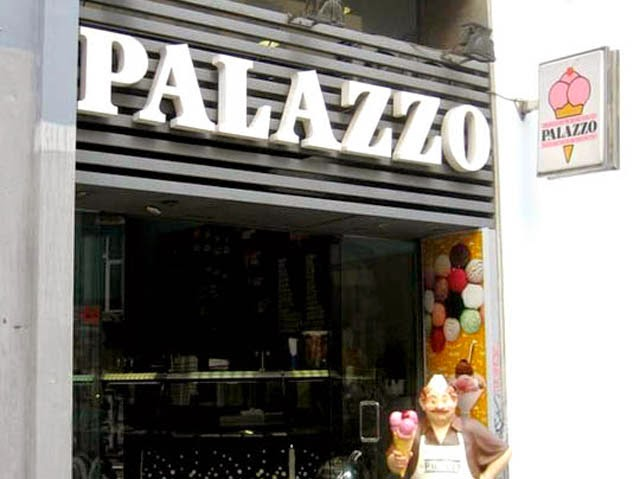 helados palazzo madrid heladería