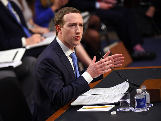 Facebook CEO Mark Zuckerberg says his data was exposed in Cambridge Analytica leak