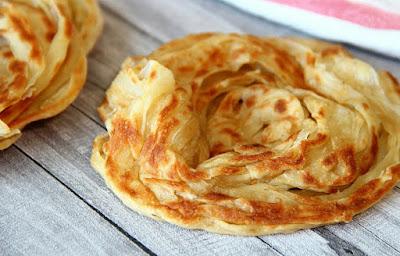 Kandungan Kalori Sekeping Roti Canai