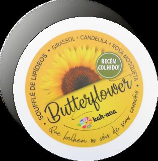 Ingredientes da Composição da ButterFlower (Soufflé de Lipídeoas da Kah-noa)