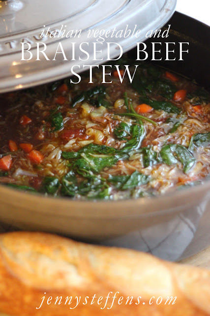 ... : Braised Beef & Italian Vegetable Stew | Warm & Cozy Dinner Recipe