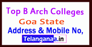Top B Arch Colleges in Goa