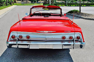 1962 Chevrolet Impala SS Convertible Rear