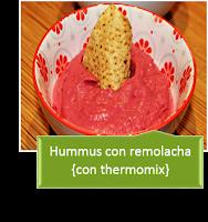 HUMMUS CON REMOLACHA