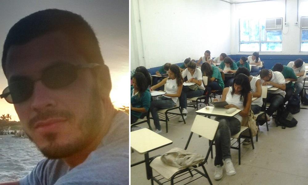 Professor deu a melhor resposta aos alunos que questionaram sua orientação sexual